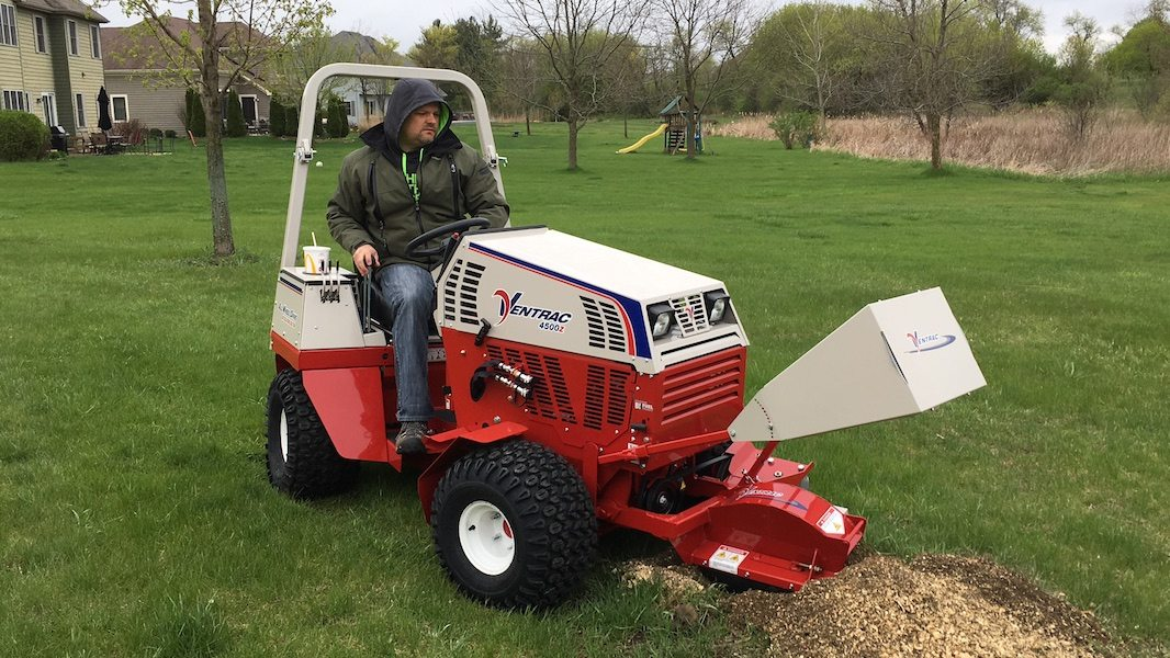 compact tractor mower
